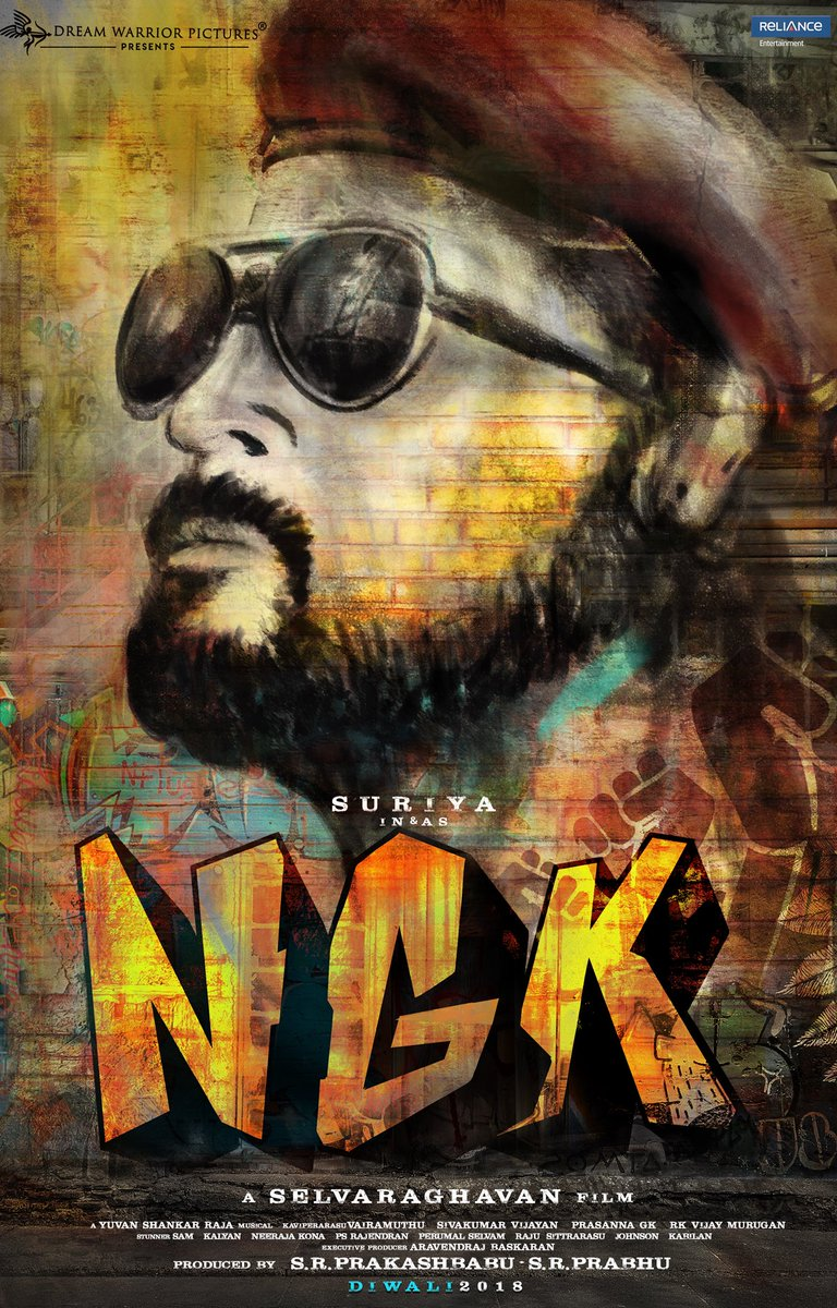Suriya – Selvaraghavan movie first look released – Titled NGK