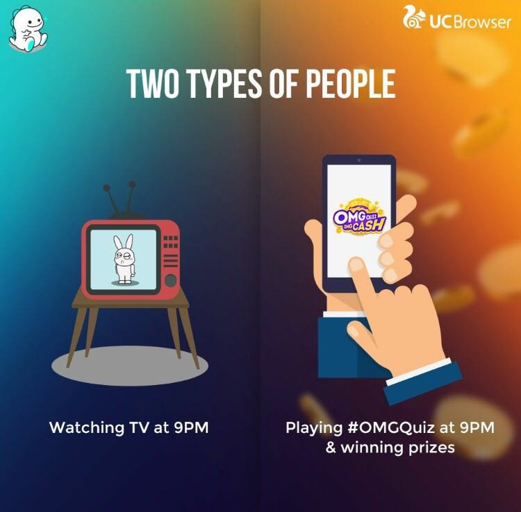 Which kind of person are you?  Play #OMGQuiz tonight at 9 pm & win Rs. 2,00,000 and more: http://bit.ly/2oCPpOG