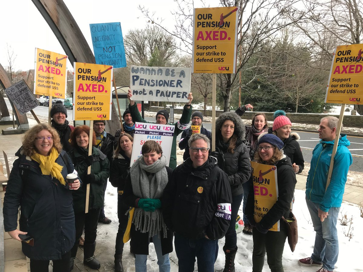 Day 6 of Durham University #strikeforUSS action and the level of support is still increasing!
