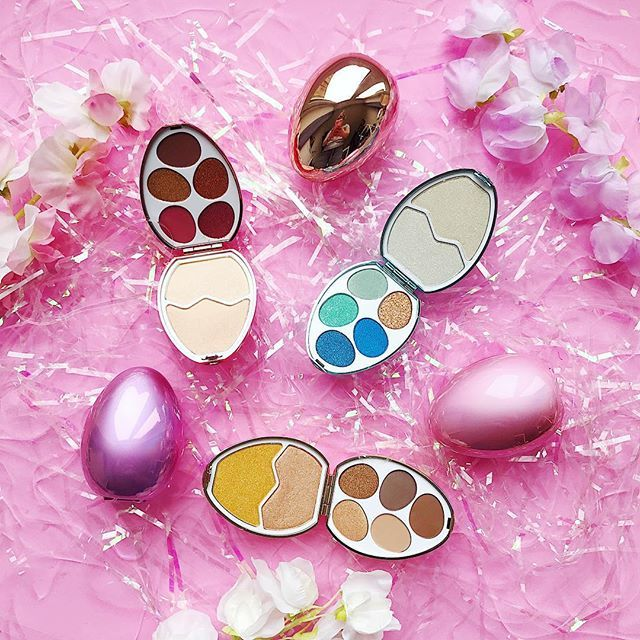 Easter makeup eggs