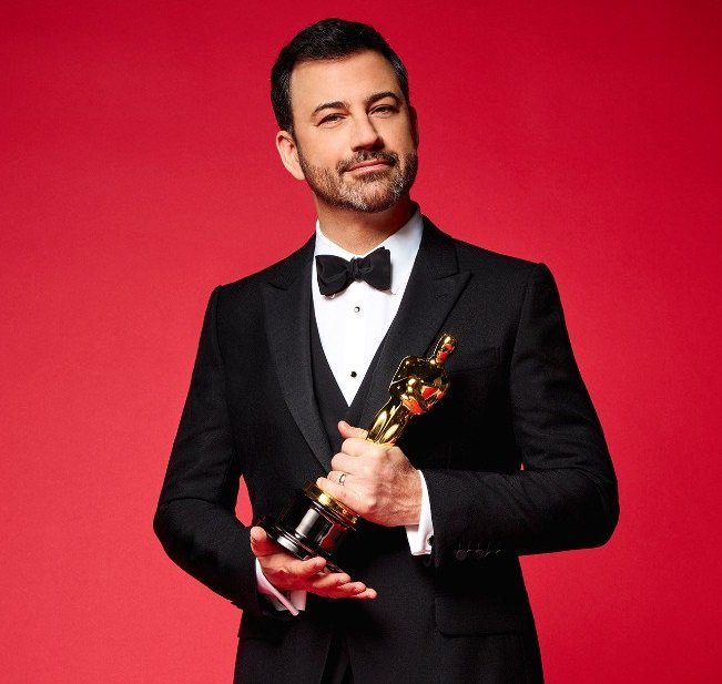 #Oscars90 .@jimmykimmel's opening monologue was about supporting @TIMESUPNOW, @MeTooMVMT & @NeverAgainMSD. We believe in the power of #CHANGE.  #ItalianRoots  pic.twitter.com/9AszRNjh5m