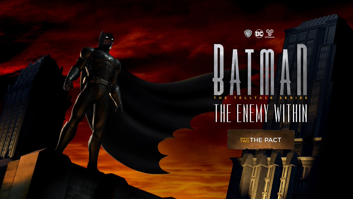 Telltale Games On Twitter In The Poster For Episode Two Of Batman Enemy Within Pact Our Team Referenced A Classic Shot From