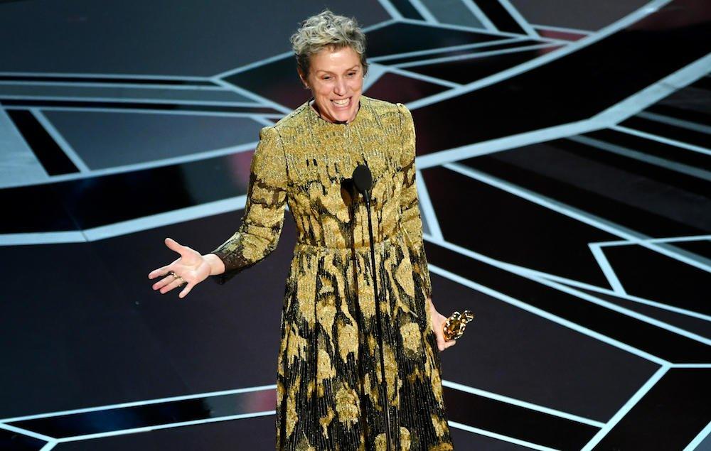Frances McDormand had her Oscar stolen a...