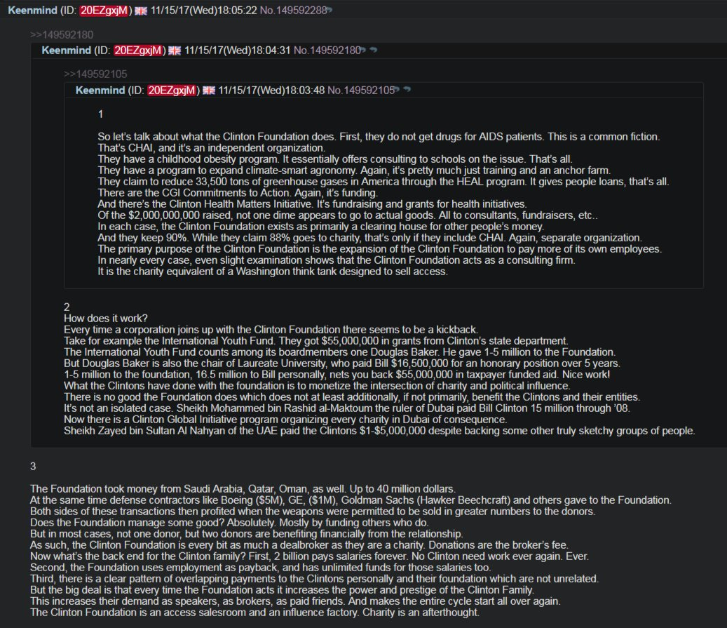 """#ClintonFoundation https:// http://voat.co/v/pizzagate/2428041… #InternetBillOfRights #FreeTheInternet  https://petitions.whitehouse.gov/petition/internet-bill-rights-2… sign the #petition Thanks to @13Buddha, I believe we may have found the """"motherlode"""" in terms of Clinton Foundation """"funny money"""" via countless #offshore companies.pic.twitter.com/tddIRpR014"""