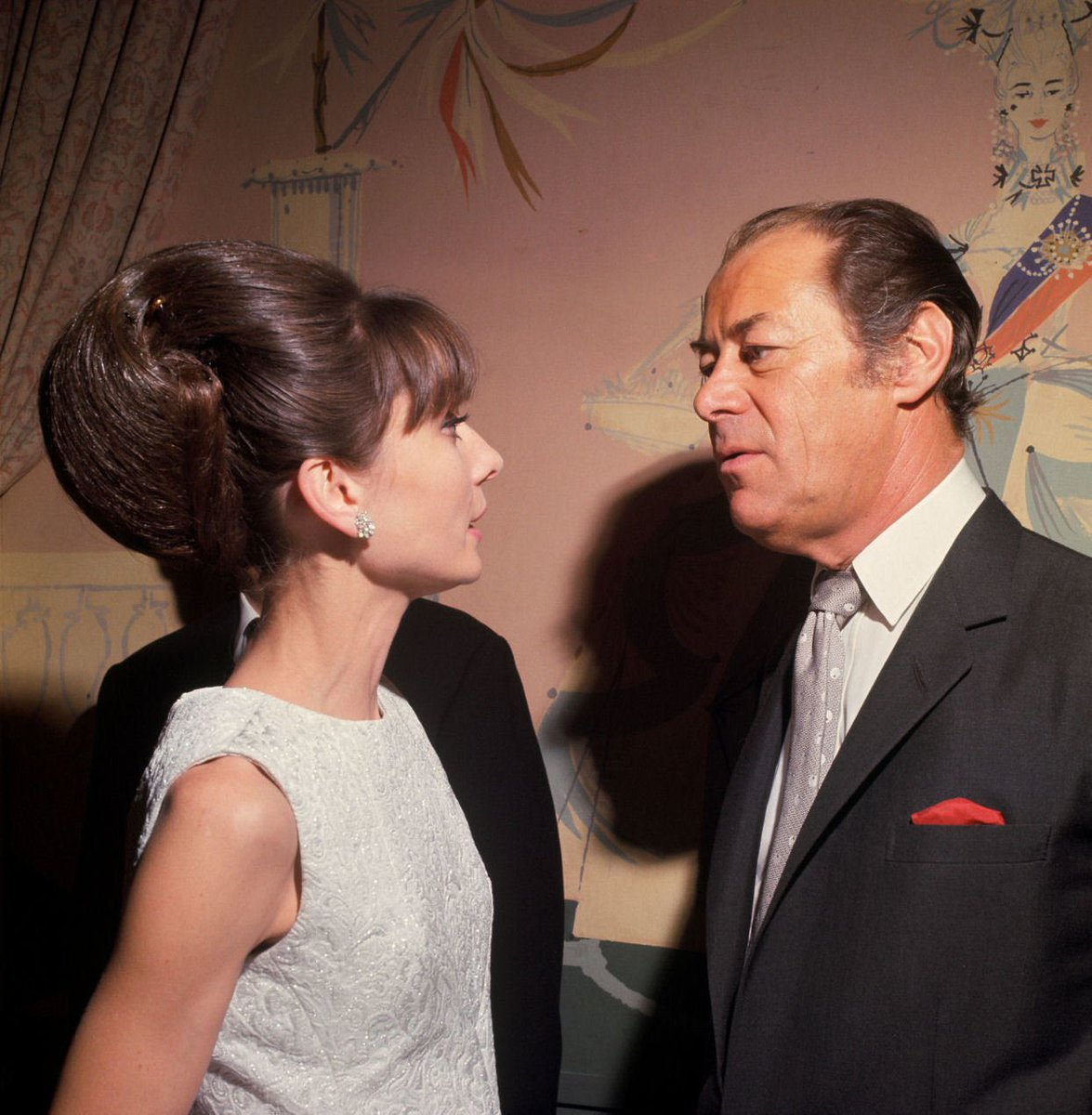 Audrey Hepburn On Twitter Happy Birthday Rex Harrison Audrey Hepburn Photographed With Rex Harrison At The Sherry Netherland Hotel During A Press Reception For My Fair Lady 1964 Https T Co G7nxrjoysx