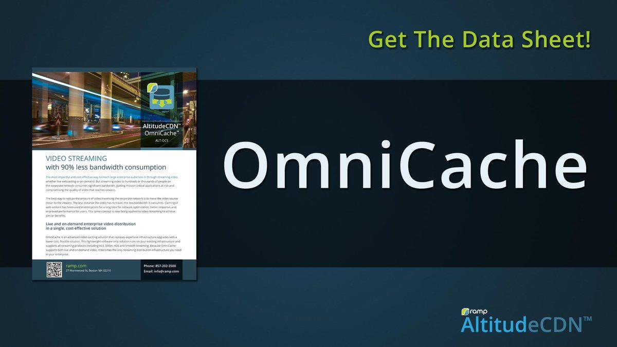 Ramp 99 Less Video Traffic On Your Company WAN AltitudeCDN OmniCache EnterpriseVideo ECDN CESI Tco VgIgAaAMmh