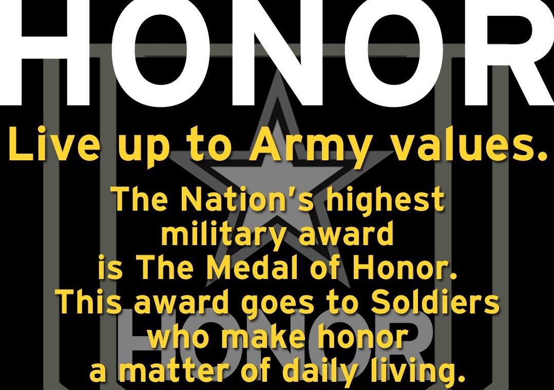 army values definitions