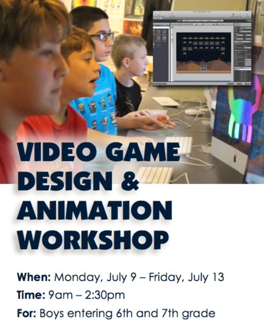 Video Game Design Summer Programs High School Students: Canisius High School on Twitter: Registration is now open for our rh:twitter.com,Design