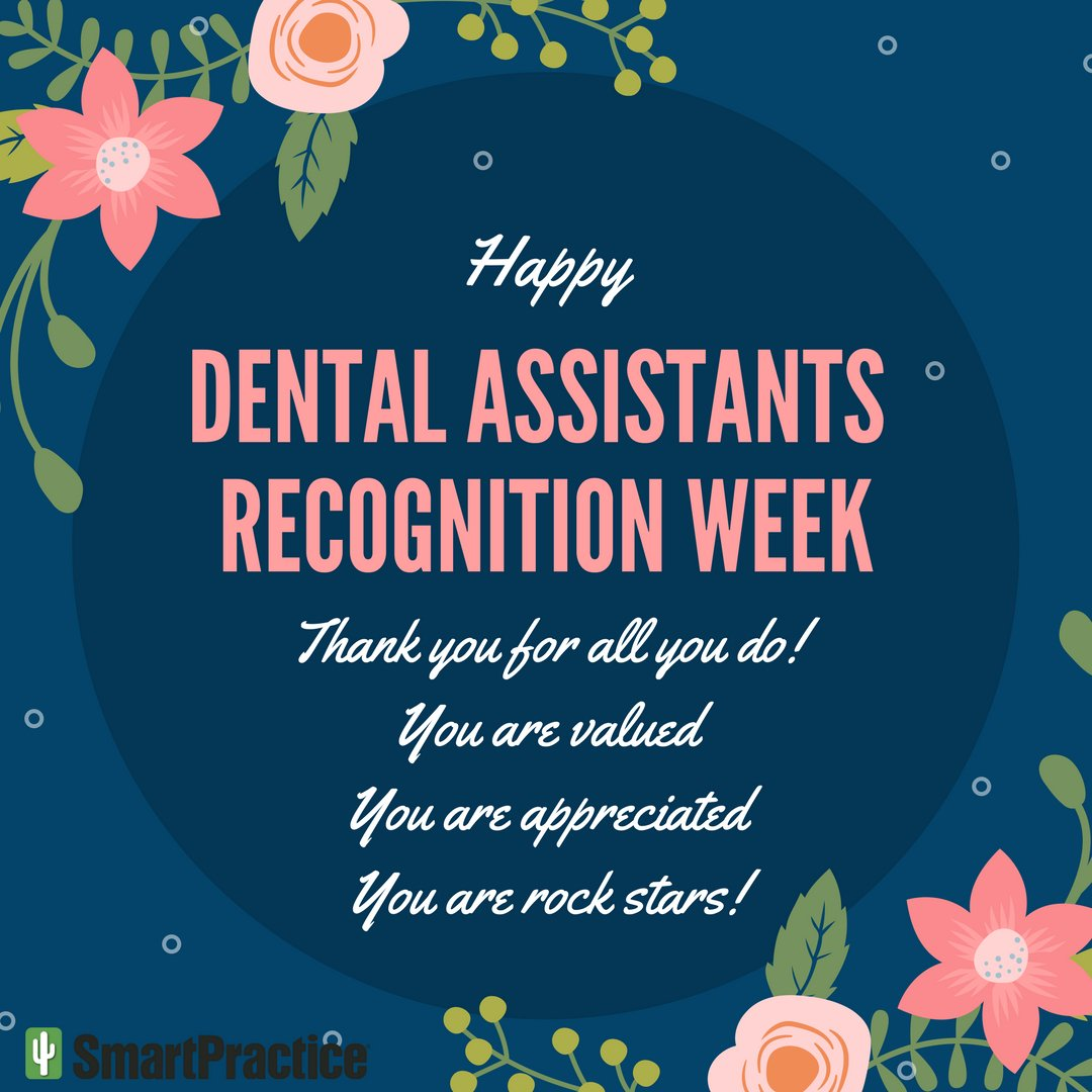 Dawr hashtag on twitter thank you for your hard work the long hours you put in and the dedication to your craft happy dental assistants recognition week kristyandbryce Gallery