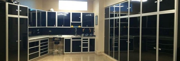 Beau See How Moduline Cabinetsu0027 Premium Aluminum Cabinets Are Must Have For An  Organized Garage, Shop Or Laboratory: ...