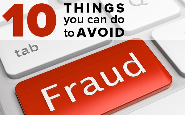 Here are 10 things you can do to avoid #fraud: go.usa.gov/xnubJ #NCPW2018
