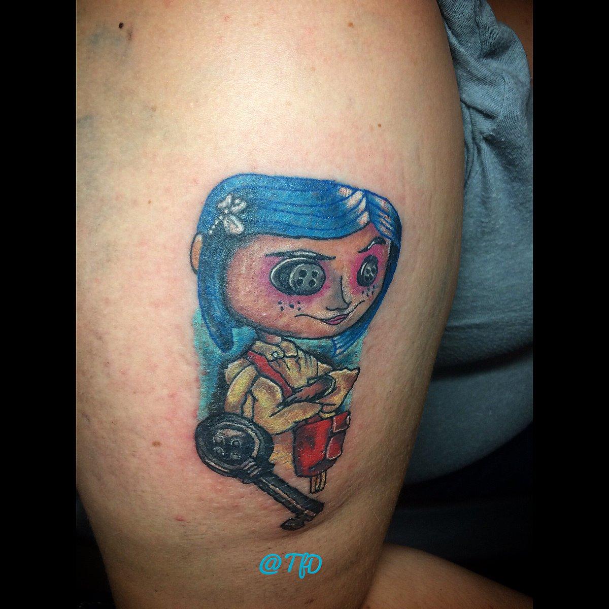 Danny Moore On Twitter Timburtonartnew Timburton Coraline Tattoos I Made Thanks For Looking Super Fun Ig Tattoosfromdanny