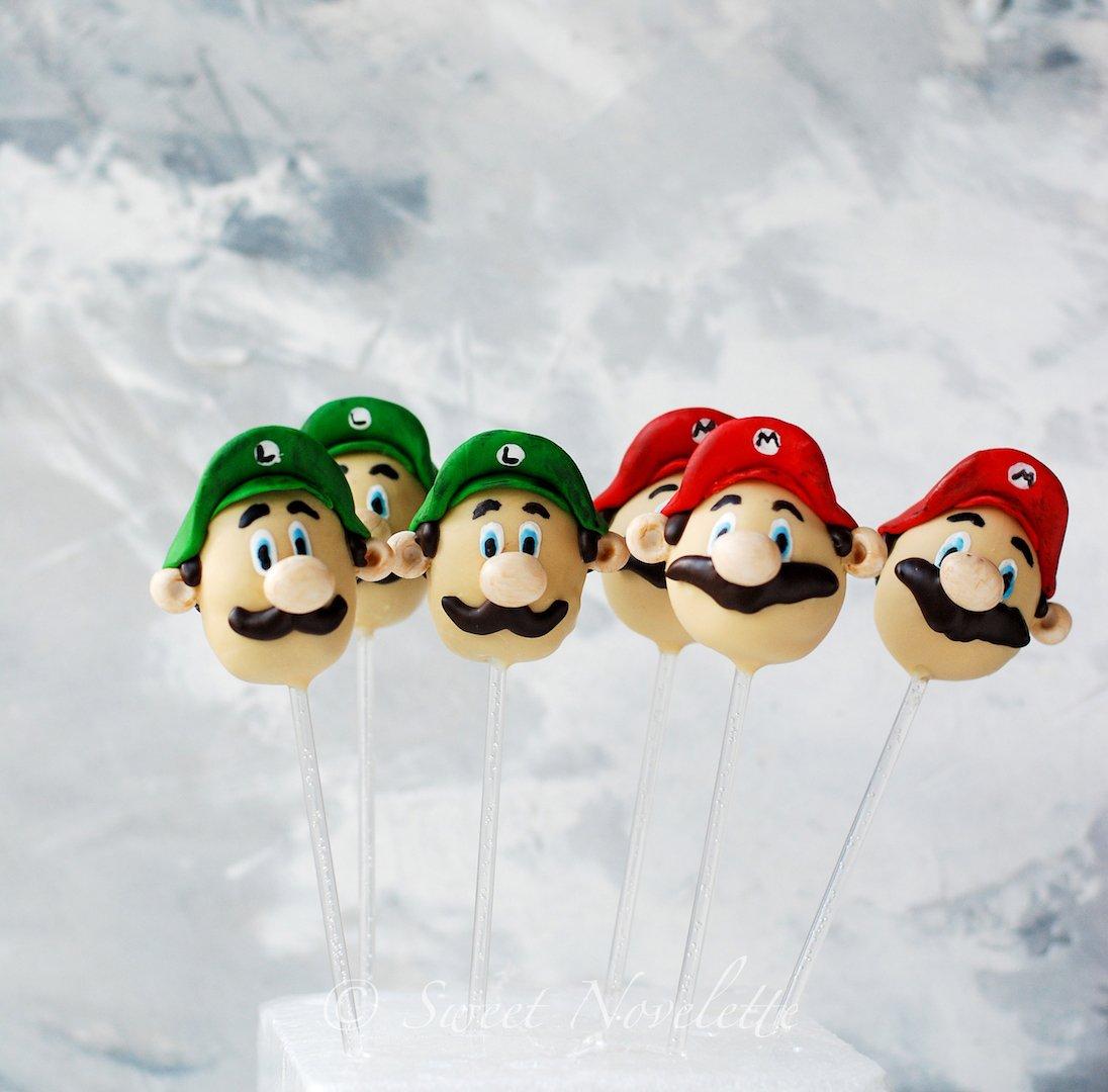 Sweet Novelette On Twitter These Super Mario Cake Pops Are