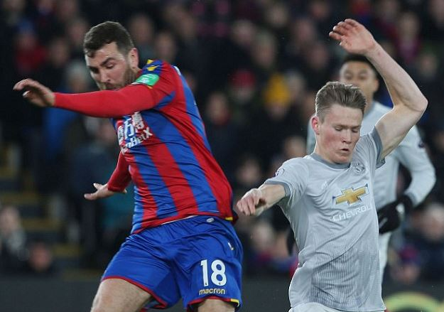 Scott McTominay's Manchester United career has been a constant upward curve but Palace provided him with his first knock http://dailym.ai/2I6Mczc