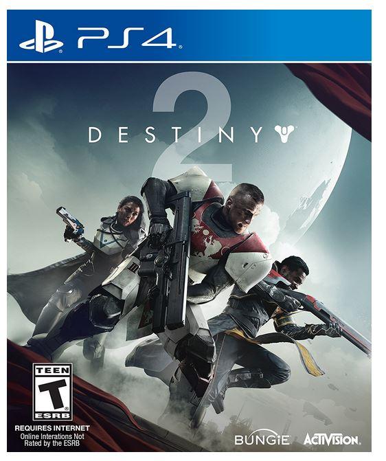 Destiny 2 (PS4) $16.84 via Amazon (Prime Eligible). ow.ly/2vWa30iLUyw