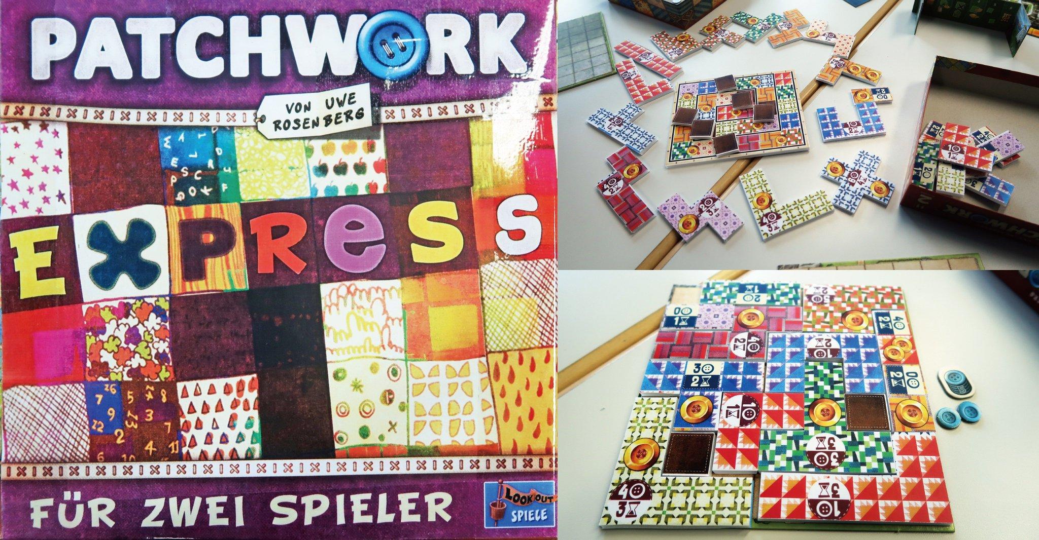 patchwork Expres juego de mesa