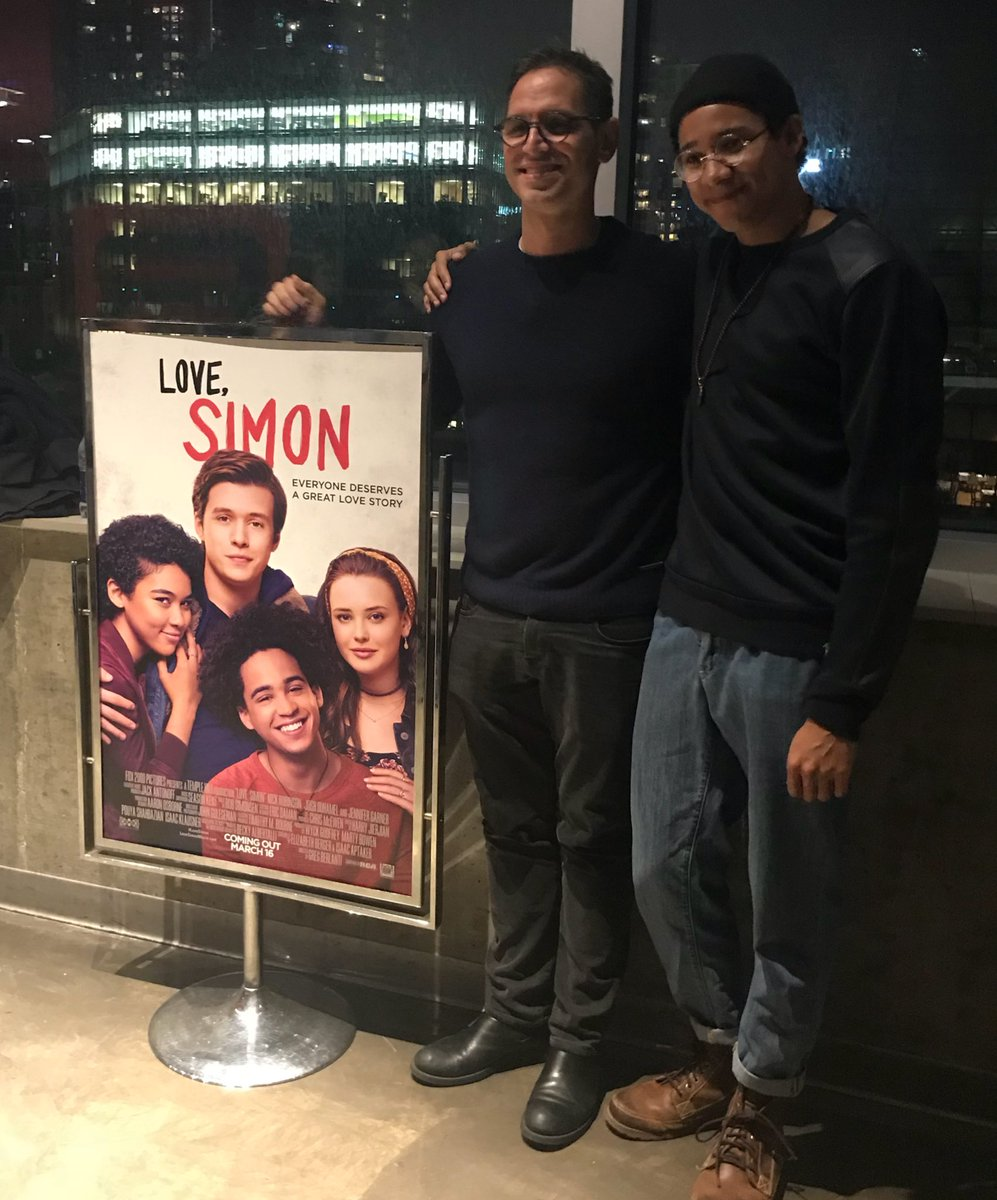 A beautiful heartwarming film. I can't encourage you enough to see it March 16! #lovesimon @KeiynanLonsdale @GBerlanti Love, Candice.