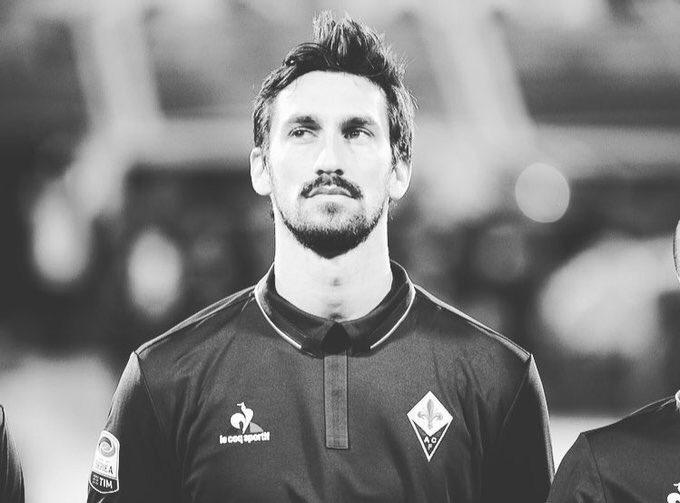 La Fiorentina a décidé d'honorer la prolongation de contrat de Davide Astori (qui devait être officialisée aujourd'hui) et de verser le salaire à sa femme et à sa fille.