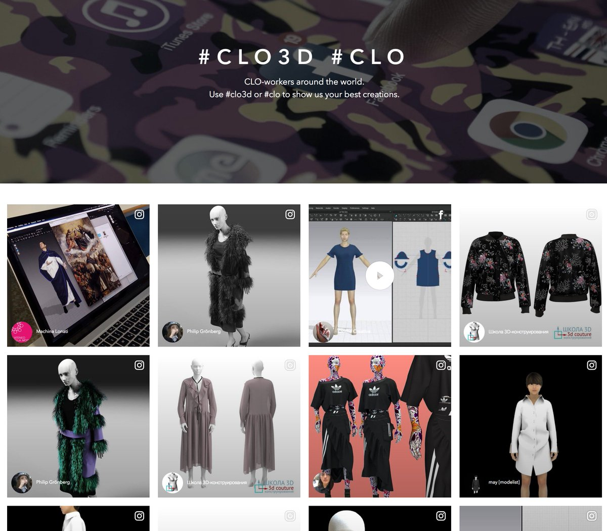 Clo On Twitter Clo3d Is The Only 3d Design Software Available For Public Download We Are Committed To Empowering Individual Designers And Freelancers Check Out Some Great Works By Our Users And