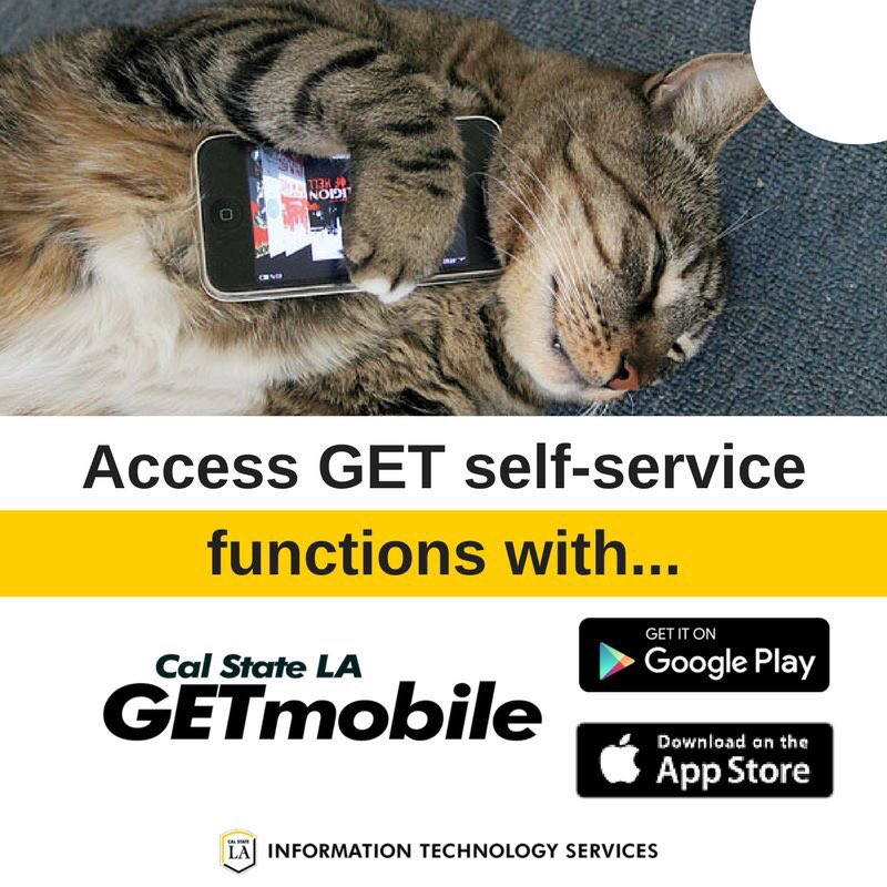 Calstatela Its Tweet On Twitter Goldeneagles You Can Access Get