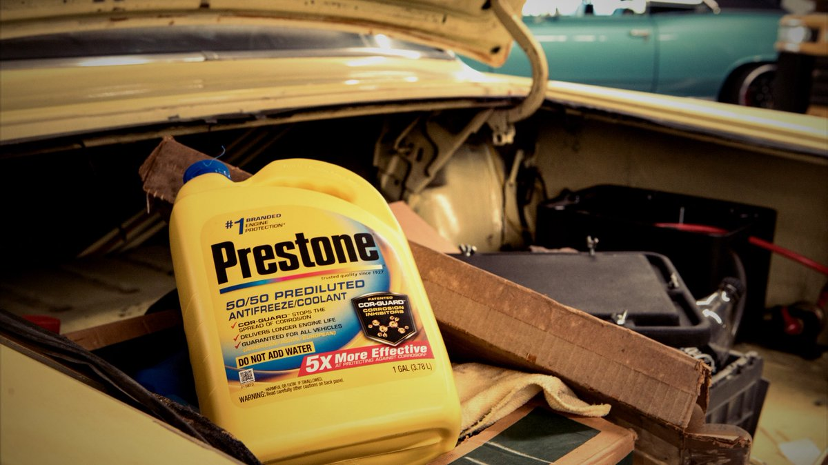 Prestone On Twitter Corrosion Kills Cooling Systems With Engine Coolant Around Cor Guard Stops Before It Starts And Is 5x More Effective Than The Next