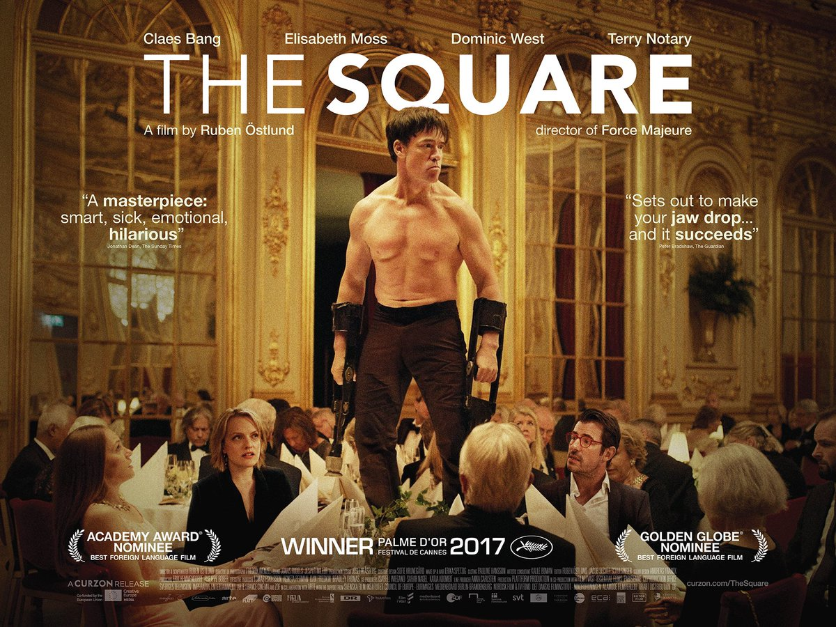 Image result for the square movie poster curzon
