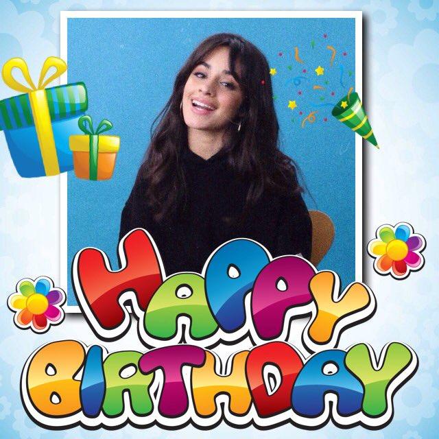 Happy birthday Camila I love you so so much