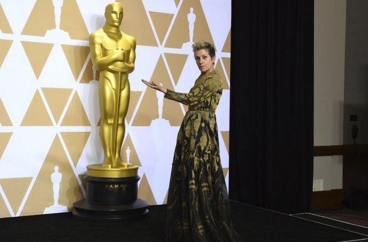 Desconocido robó su Óscar — Frances McDormand