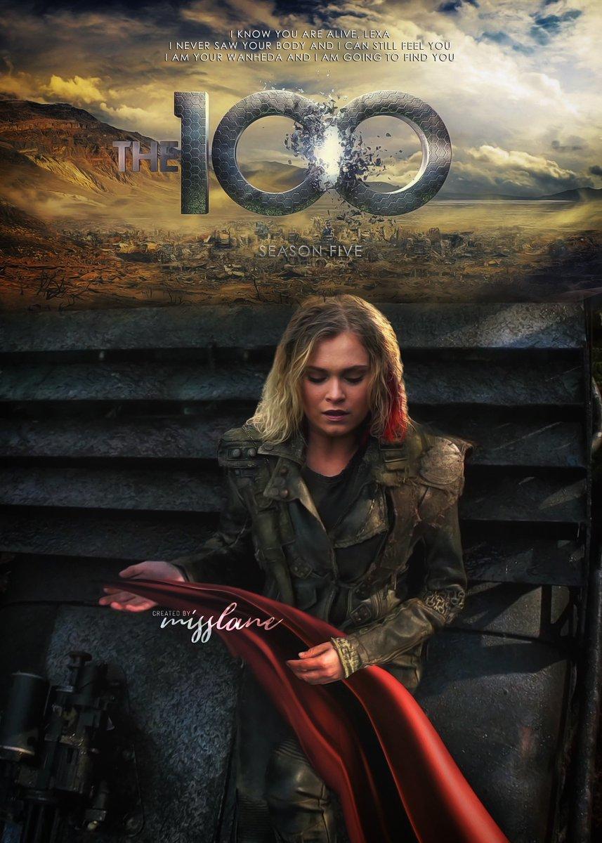 Misslane En Twitter Virtual Poster The 100 Season Five