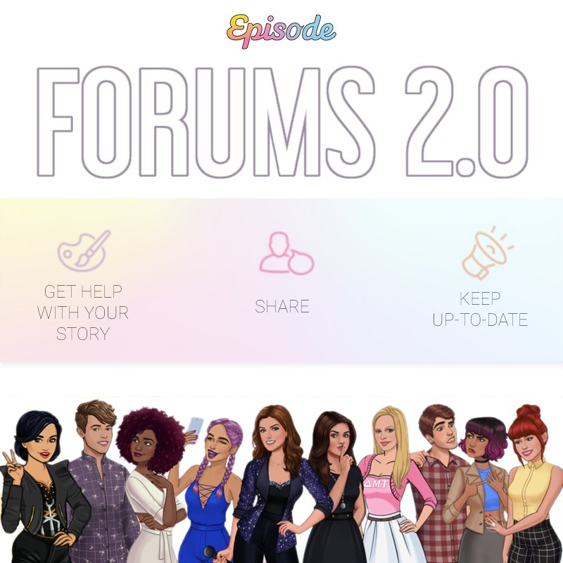 Episode On Twitter The Episode Forums Got A Makeover Come See Our New Look And Tell Us What You Think Episode Forum Thatnewnew Whodis Checkitout Https T Co Vaugfvvsed The forums can be confusing, but we here to help you get started! the episode forums got a makeover