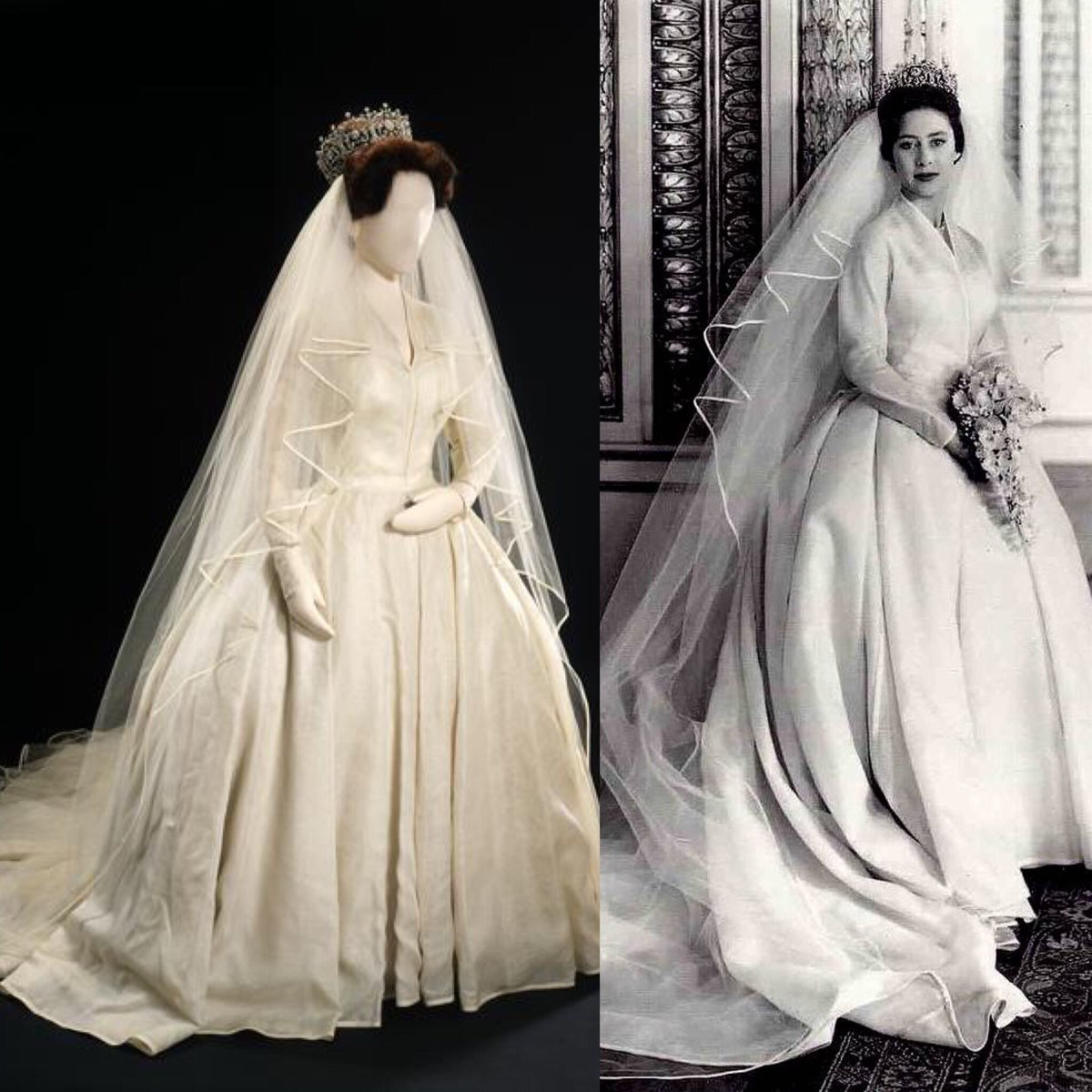 Princess Margaret Wedding Dress The Crown 59 Remise Www Lacin