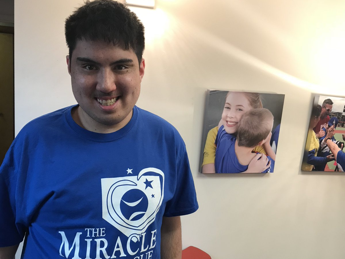 Welcome Baldwin High School student Chase Mitchell to our team! Chase is our new high school intern and will be working at the Miracle League Office Monday-Wednesday throughout the school year. We are pumped to have him on board! @BWPupilServices