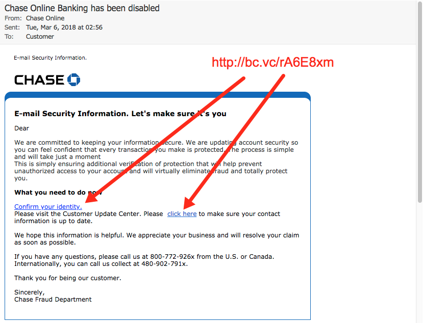 chase account security questions