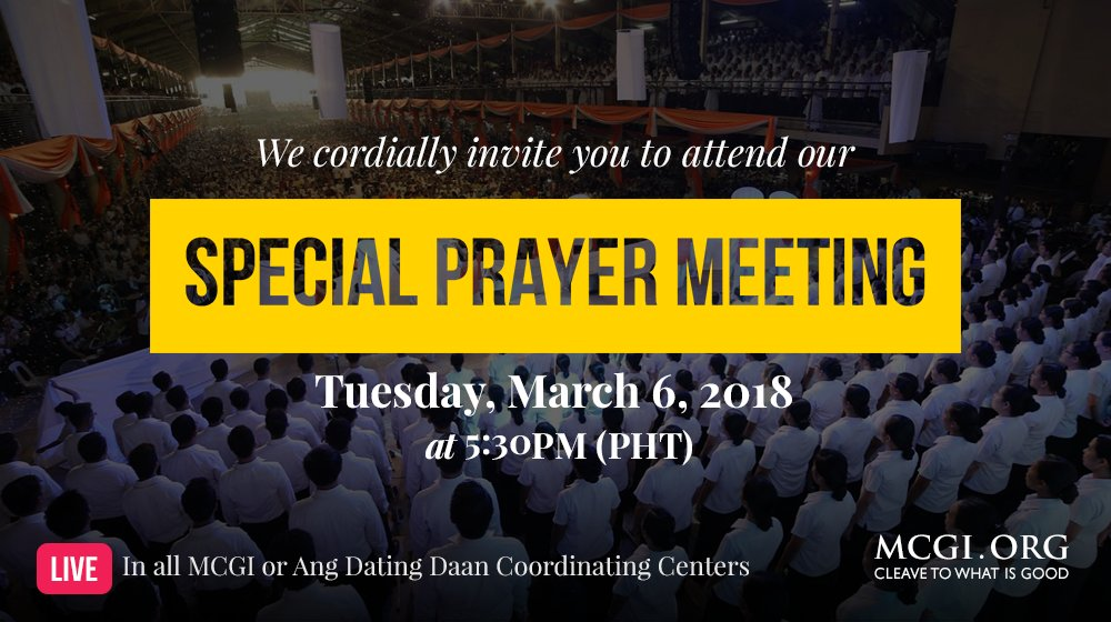 ang dating daan prayer