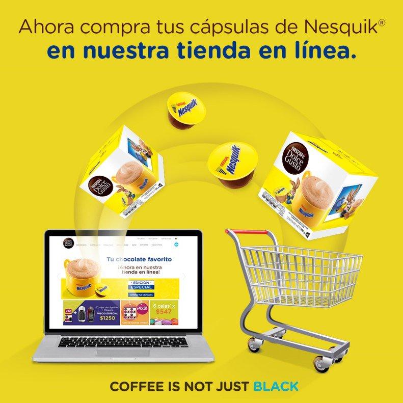 ¡Porque tú lo pediste! Visita nuestra tienda en línea y llévate tus cápsulas de #Nesquik por tiempo limitado ☕🍫¡No te lo pierdas! https://t.co/pH1PXLshSS https://t.co/KzyhSDPaFl