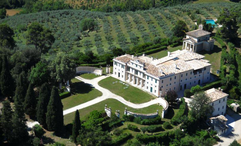 AN ARCHITECTURAL TREASURE IN THE HEART OF UMBRIA  Villa Pianciani is one of the most prestigious residences in Umbria, an eighteenth century treasure surrounded by olive trees. it overlooks Spoleto, Montefalco, Assisi and Spello.  villapianciani.it/index.php?m1=0…  #travel #Italy