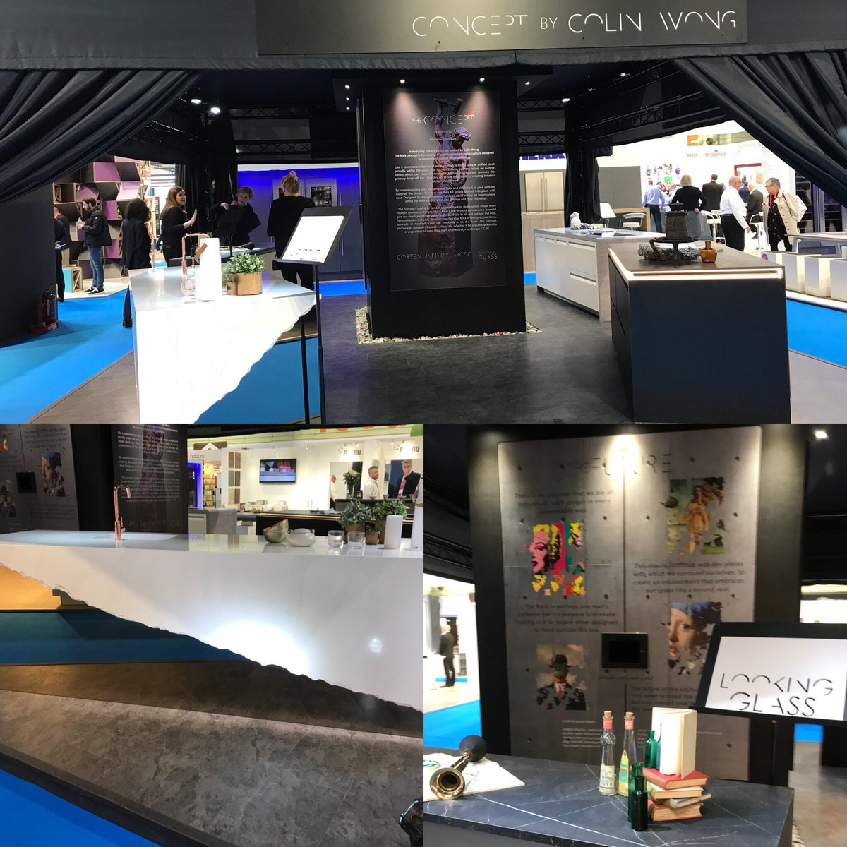 For me the best stand of #KBB2018 was Concept by Colin Wong Pushing the boundaries of design. Just for your info Colin my favourite piece is the marble/mirror combination.