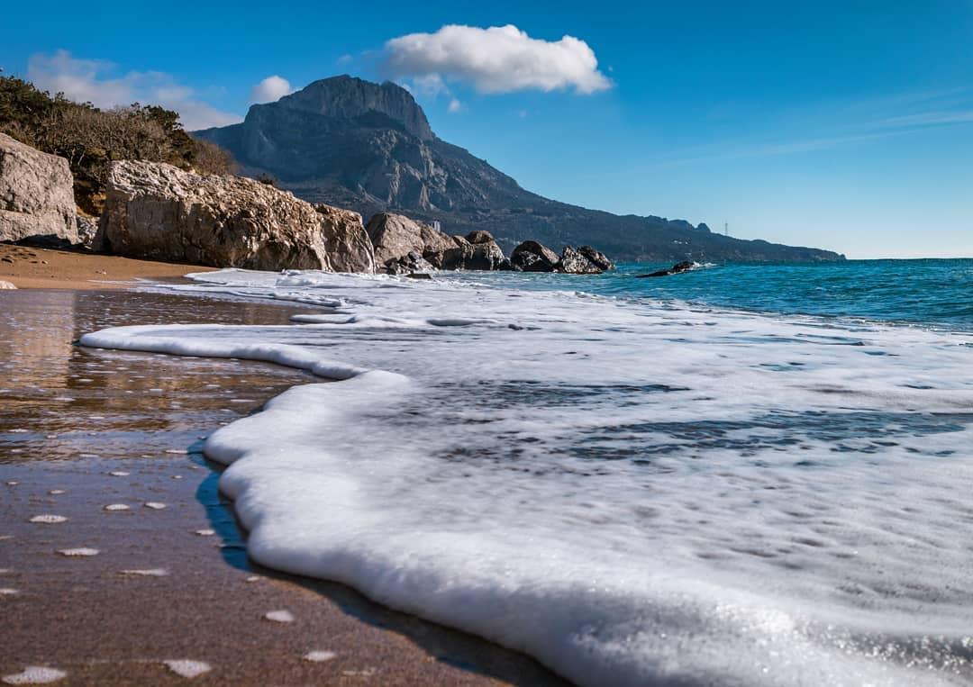 картинки моря и пляжа крым принцип