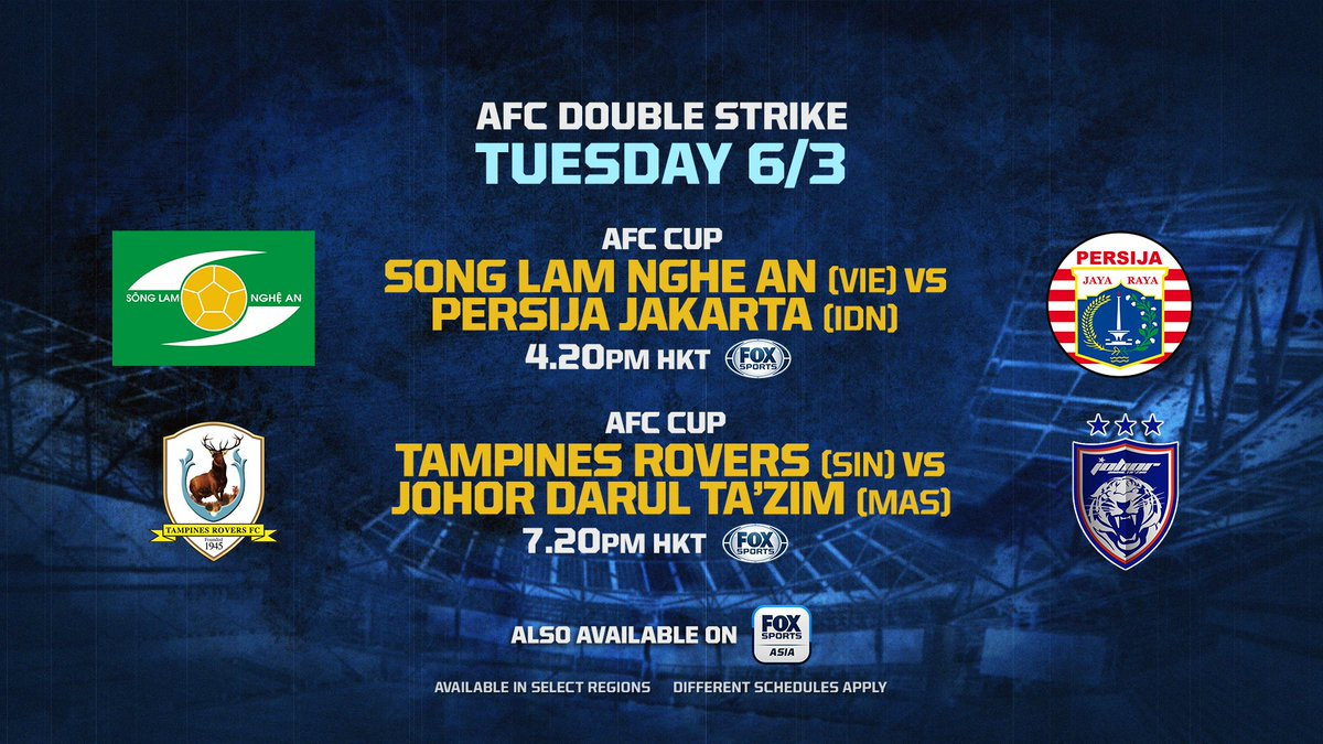 Fox Sports Live On Twitter It S Game Day Tons Of Acl2018 And Afccup2018 Action Lined Up Today Watch It All Live On Fox Sports And The Fox Sports Asia App Https T Co Dlw6ieytw0