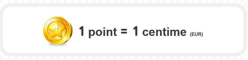 les points or peuvent tre utilis s pour acheter des logiciels t l chargeables sur nintendo. Black Bedroom Furniture Sets. Home Design Ideas
