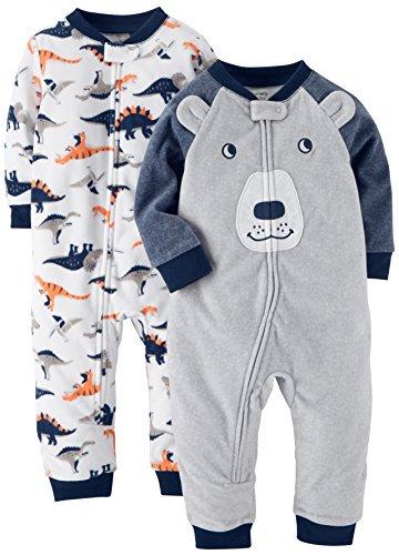 Carters Boys 2-Pack Fleece Pajamas