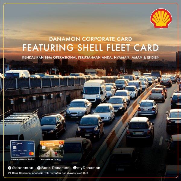 kartu kredit corporate ini terhubung dengan shell fleet card berita lengkapnya bisa kamu baca di website kami httpowlytyxw30ikjdh infodanamon - Shell Fleet Card