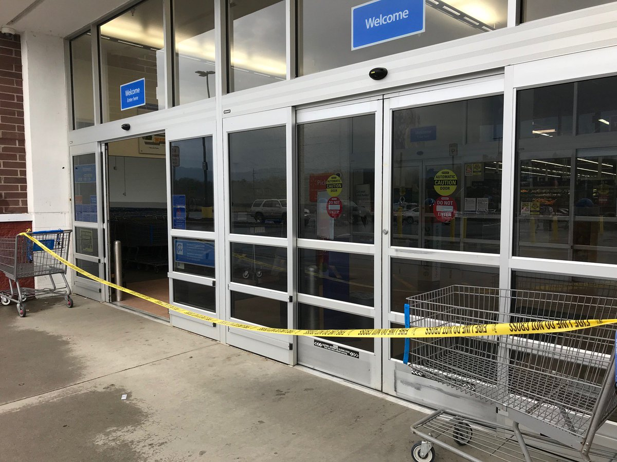wlos on twitter after bomb threat on bathroom stall weaverville walmart evacuated closed for hours httpstcoujgkvzgvif