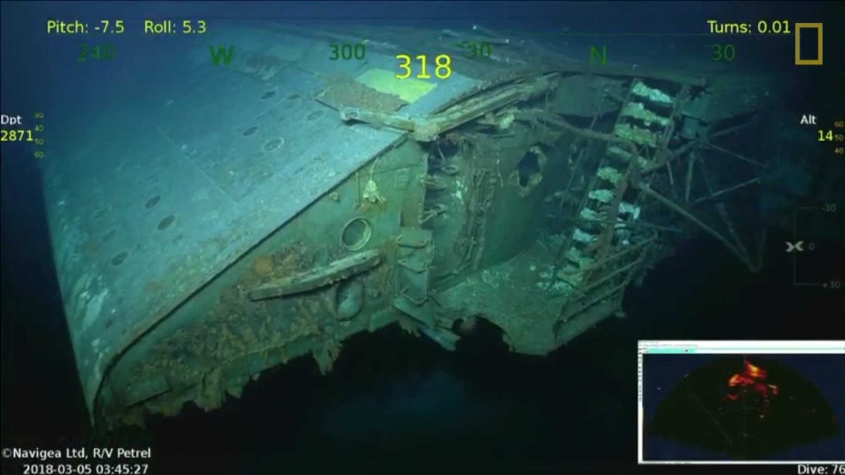 USS Lexington, first aircraft carrier sunk in WWII, found ...