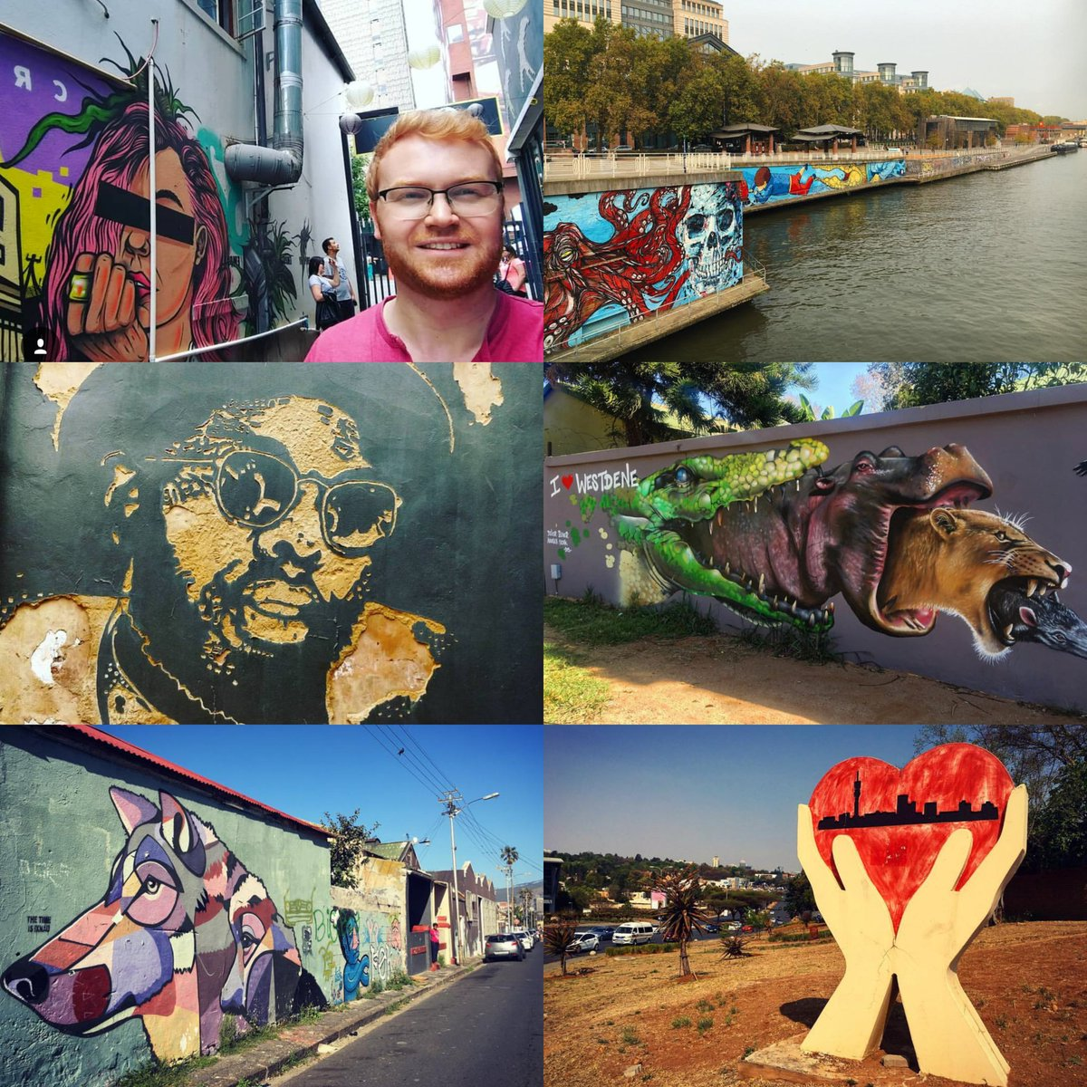 I love public art. Recently found and photographed these amazing works in Johannesburg, Pretoria, Cape Town and Brussels. If youve also found some great public art, tag your pics in the thread. #TravelTuesday ❤🖌