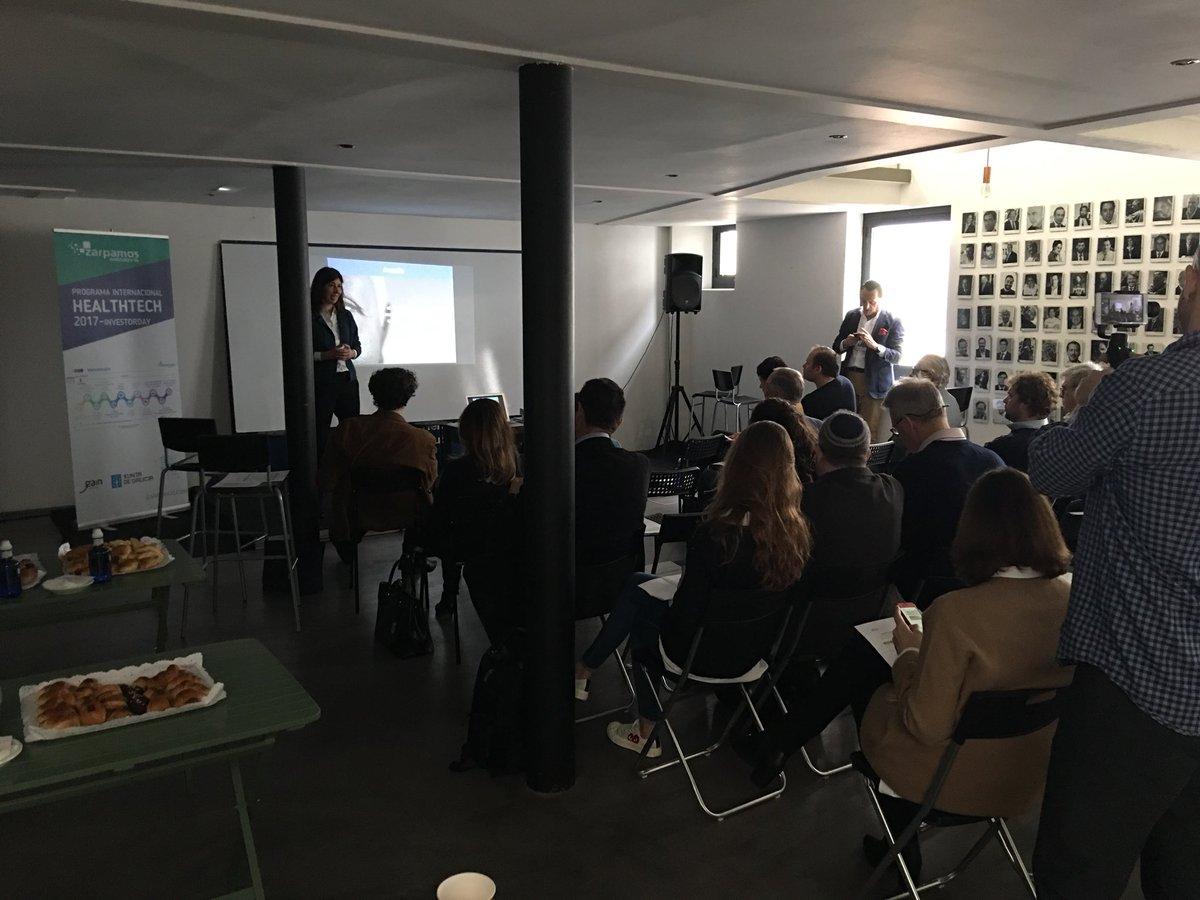 #InvestorDayBiosanitario comienza la jornada de las presentacion de las empresas Programa Internacional HealthTech #coruña #telaviv #madrid https://t.co/MuMspqXrCG