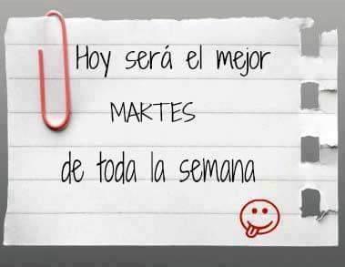 Vamos a por él. 💪  #martes #BuenosDias h...