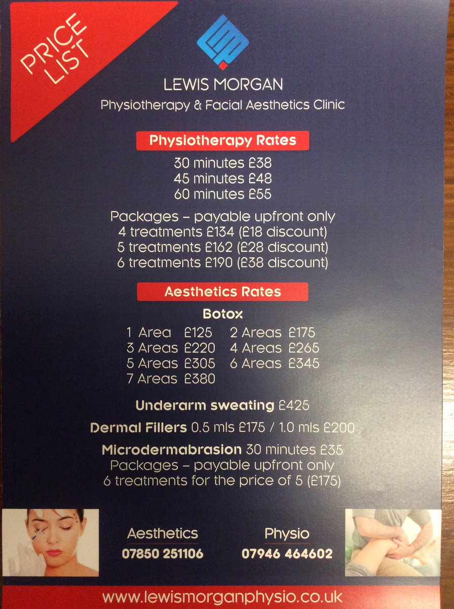 LM Physio & Aesthetics on Twitter: