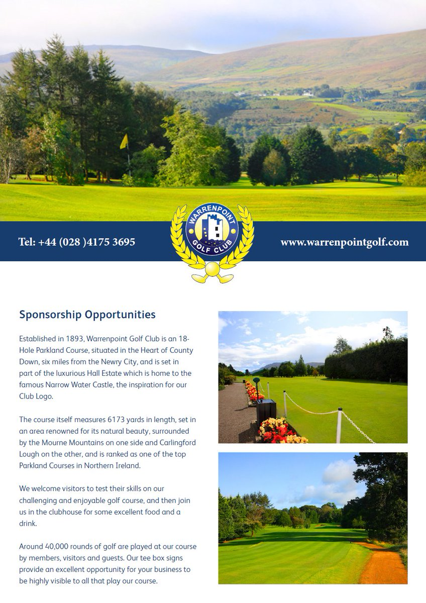 Warrenpoint Golf (@WGC_live) | Twitter