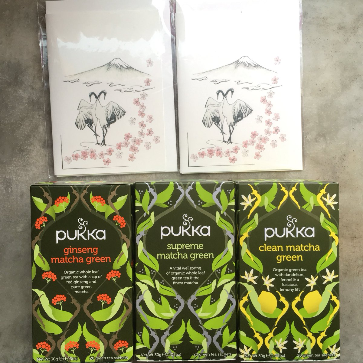 Deli X Ltd New Mother S Day Arrivals Pukkas Organic Matcha Teas Ginseng Supreme Clean Dandelion Fennel Lemon Pukkaherbs Matcha Greentea Japan Tea Organic Mothersday Postcard